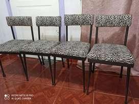 4 o 6 sillas