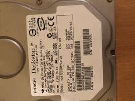 Disco Rigido Hitachi 82 GB IDE