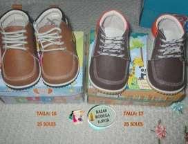 Zapatos nuevos para niño talla 16 y 17