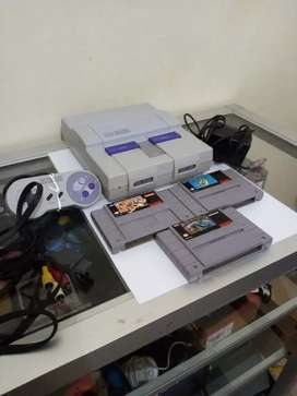 Super Nintendo excelente estado todo original snes 64 nes