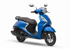 Yamaha Fascino 100% financiada