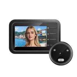 Mirilla Digital Black Pantalla LCD 2,4 Ojo Mágico