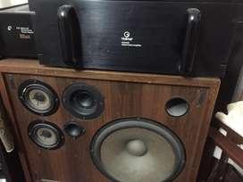 Amplificador potencia Holimar 250w X 2 tipo sony,techics,pioneer