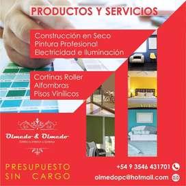 Productos y Servicios para renovar tus espacios