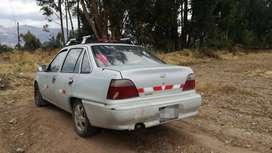 Vendo auto daewoo cielo año 1994, salón en buen estado, uso particular, lo vendo por motivo de viaje, papeles en regla