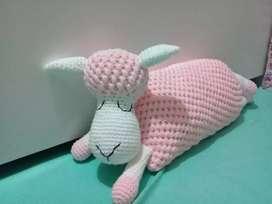 Almohada ovejita de algodon