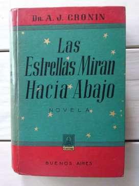 Libro Las Estrellas Miran Hacia Abajo Dr. A. J. Cronin (Ver DESCUENTOS)