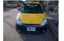 Se vende taxi Chevrolet spark - modelo 2011