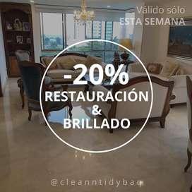 Limpieza & Brillado de PISOS, OFERTA hasta -20% en Barranquilla