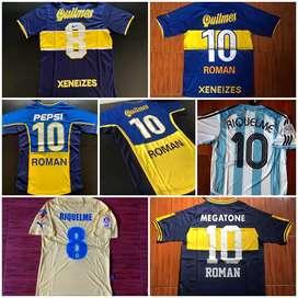 Camisetas Boca Riquelme nuevas