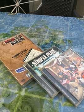 Colección discos Simple Plan