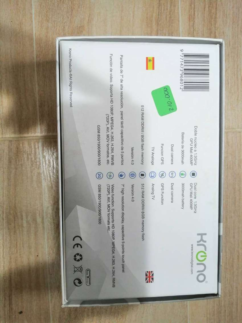 Tablet Krono Dual Core 0