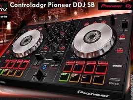 se vende controlador de musica pioneer dj ddj sb