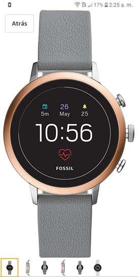 SmartWatch Fossil Modelo DW7F1 Q Venture HR 4th Generacion GPS contesta notificaciones.para Dama