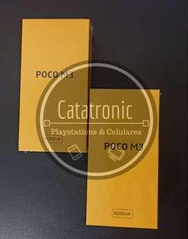 xiaomi pocophone m3 128gb / nuevo/local/garantia