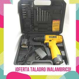 OFERTA!!! Taladro 12v con accesorios