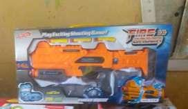 Pistola con balas de gomas nueva