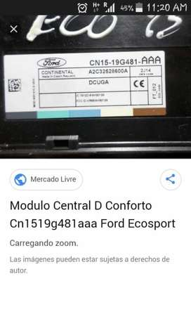 Modulo Central Ford Eco Titanium