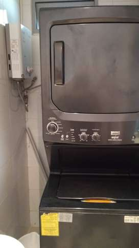 Venta de torre lavadora-secadora a gas en excelente estado
