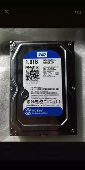 Vendo disco duro wester digital blue 1 tb