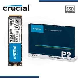 SSD M.2 500 GB NVME PCIe 2280 | Crucial