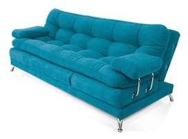 Sofa cama Ensueño Galaxy 5 posiciones turquesa