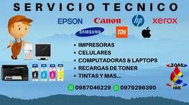 SERVICIO TECNICO DE IMPRESORAS Y CELULARES