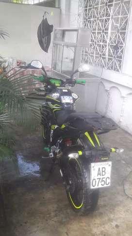 Se vende moto suzuki gixxer año 2018   informacion al whatsapp . Solo gente seria nads de preguntones