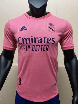 Segunda Camiseta del Real Madrid 20/21 Versión de jugador