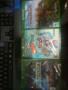 3 videojuegos xbox one