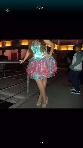 Vestido de 15 y vestido de fiesta