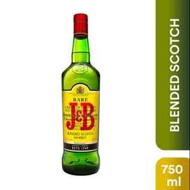 J & B 750ml