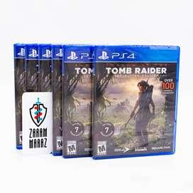 Shadow of the Tomb Raider Definitive Edition Nuevo y Sellado PS4