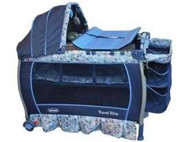 Corral bebesit travel élit blue , colchoneta incluido