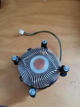 Discipador intel original cpu LGA 115x cobre
