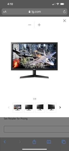 Monitor gamer marga LG