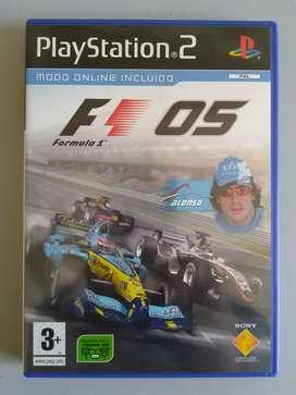 F1 Formula One 2005 Original Sony Playstation2