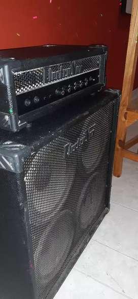 CABEZAL Y CAJA ELECTROVOX 120 BASS, permuto por notebook