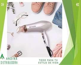 Secadora De Cabello Revlon, Accesorios Difusor Y Concentrado