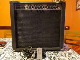 Amplificador Decoud 40W, BT, USB, Radio