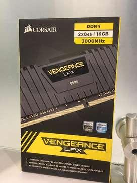 Memoria RAM DDR4 16gb CORSAIR 3000Mhz Nuevo*