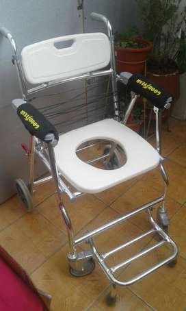 Silla con rueda