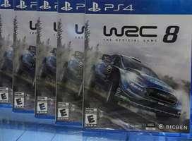 WRC 8 PS4 NUEVO SELLADP ENVIOS
