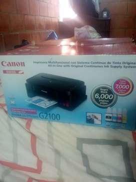 *Nueva* Impresora multifuncional canon G2100