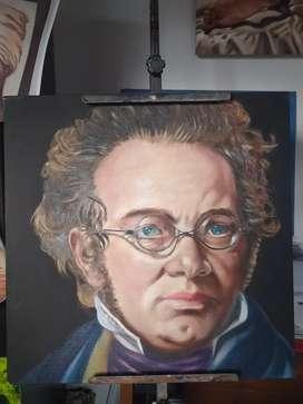 Retratos de grandes compositores