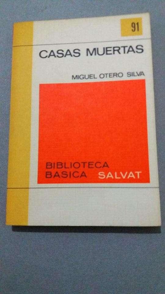 CASAS MUERTAS MIGUEL OTERO SILVA BIBLIOTECA SALVAT 0