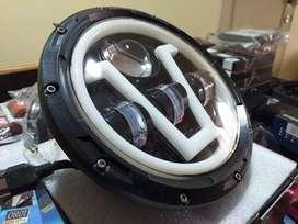 Faro LED redondo para todo tipo de motos o canionetas