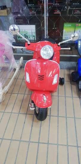Moto eléctrica niños  2 motores