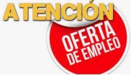 Se busca vendedor para Tulcán con experiencia minima de 2 años en ventas de consumo masivo