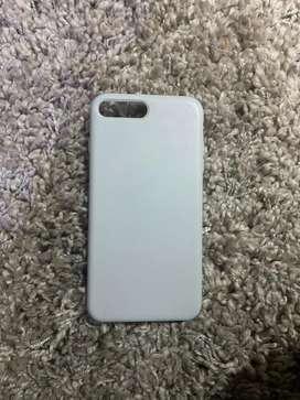 Estuche de Iphone 7 Plus Color Gris